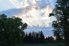 Sonnenuntergang in Gramkow