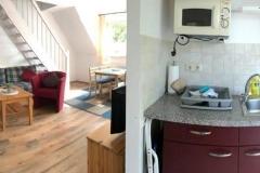 Wohnzimmer und Küche